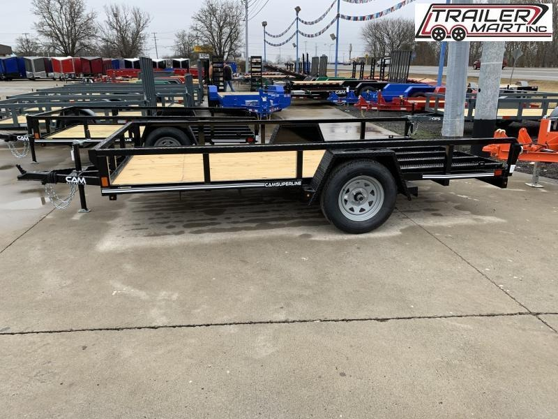 2021 Cam Superline P8212TA-B-030 (7x12 Tube Top CAM Utility Trailer 3K Idler) Utility Trailer
