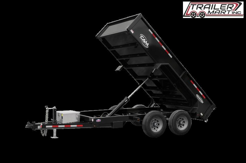 2021 Cam Superline P10610LPDT (10K Advantage Low Profile Dump Trailer 6x10) Dump Trailer