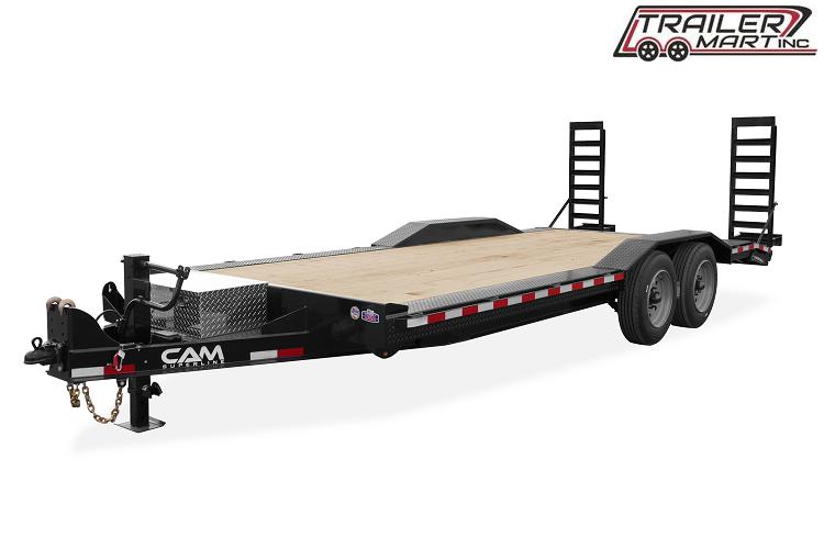 2021 Cam Superline P7EC202CFW (7 Ton Full Width Drive Over Fender Trailer 8.5 x 20+2) Equipment Trailer