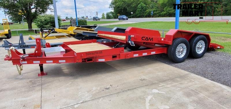 2021 Cam Superline 6Ton Split Deck Tilt Trailer 8.5x15+4 Equipment Trailer