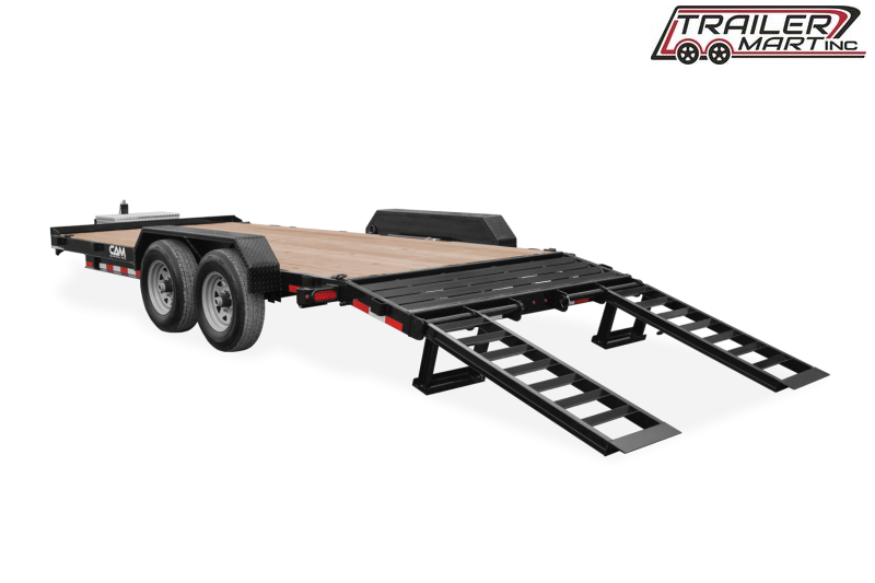 2021 Cam Superline P7EC162C (7 Ton Equipment Hauler Beavertail Trailer 8.5 x 16+2) Equipment Trailer