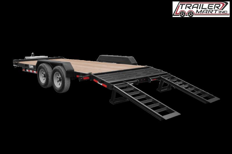 2021 Cam Superline P7EC162C (7 Ton Equipment Hauler Beavertail Trailer 8.5 x 16+2) Equipment Trailer