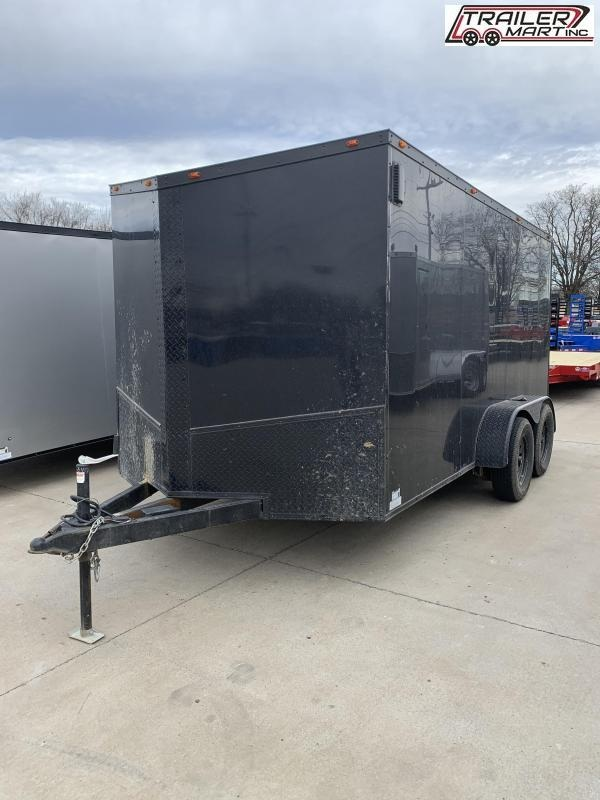 2021 Eagle 7X14TA2 Enclosed Cargo Trailer