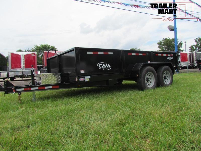 2020 Cam Superline Advantage 7X12  6 TON Dump Trailer