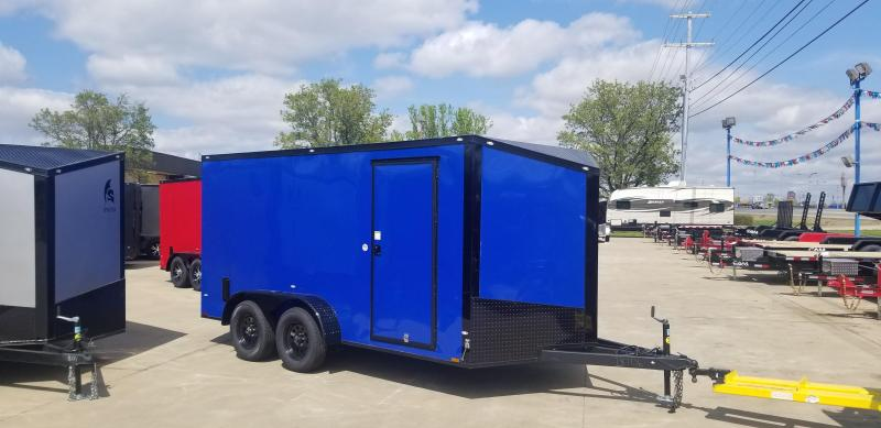 2020 Spartan 7X14TA  Commercial Grade 3 in 1 Enclosed Trailer