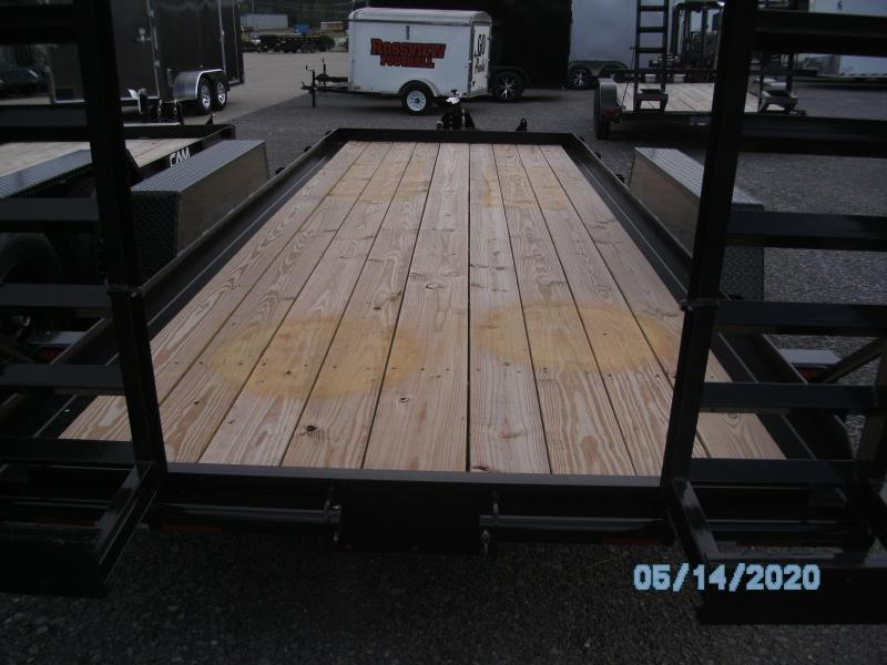 2021 Cam Superline 18' 4 ton Warrior Equipment Trailer