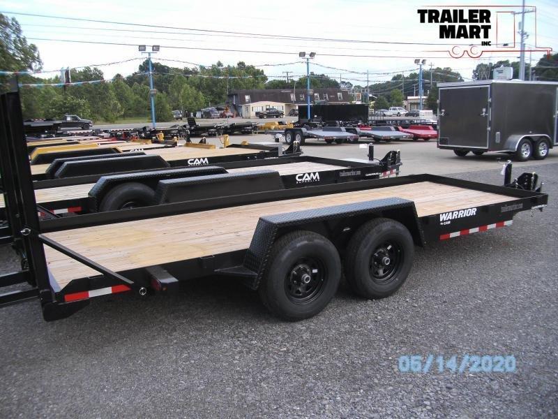 2020 Cam Superline 18' 4 ton Warrior Equipment Trailer