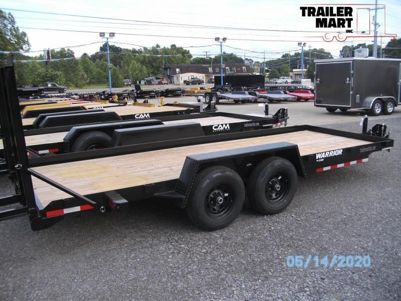 2020 Cam Superline 18' 4 ton Warrior Equipment Trailer