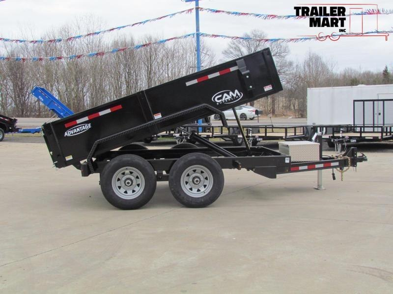 2020 Cam Superline 6x10 Dump Trailer