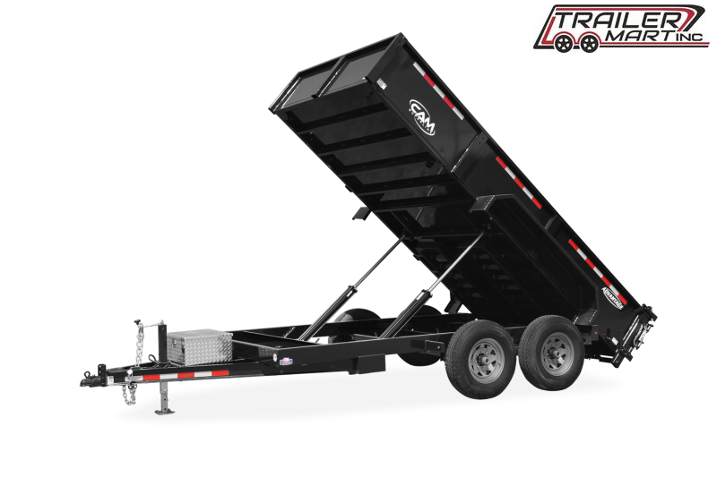2021 Cam Superline P126812LPHDT (6 Ton Advantage HD Low Profile Dump Trailer 6.8x12 ) Dump Trailer