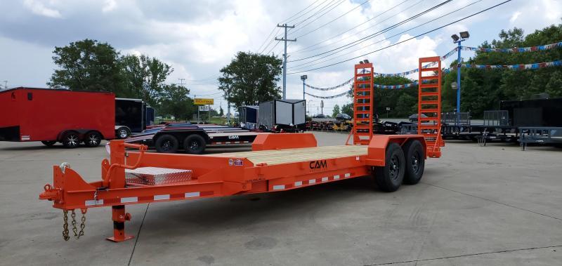 2021 Cam Superline 20' Channel Frame Flatbed Equipment Trailer - 7 Ton
