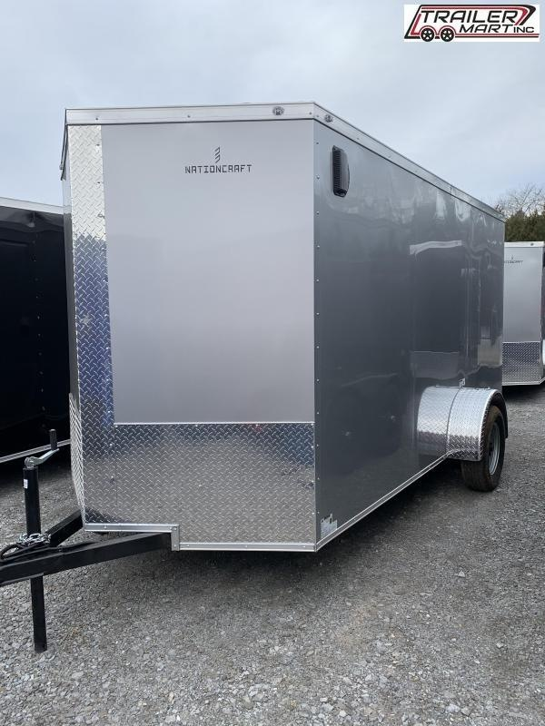 2021 NationCraft Trailers 6X12SA Enclosed Cargo Trailer