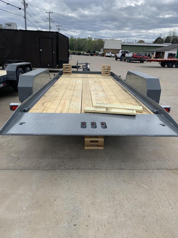 2021 Cam Superline P7CAM154STT (7 Ton Tilt Trailer Split Deck 8.5 x 15+4) Equipment Trailer