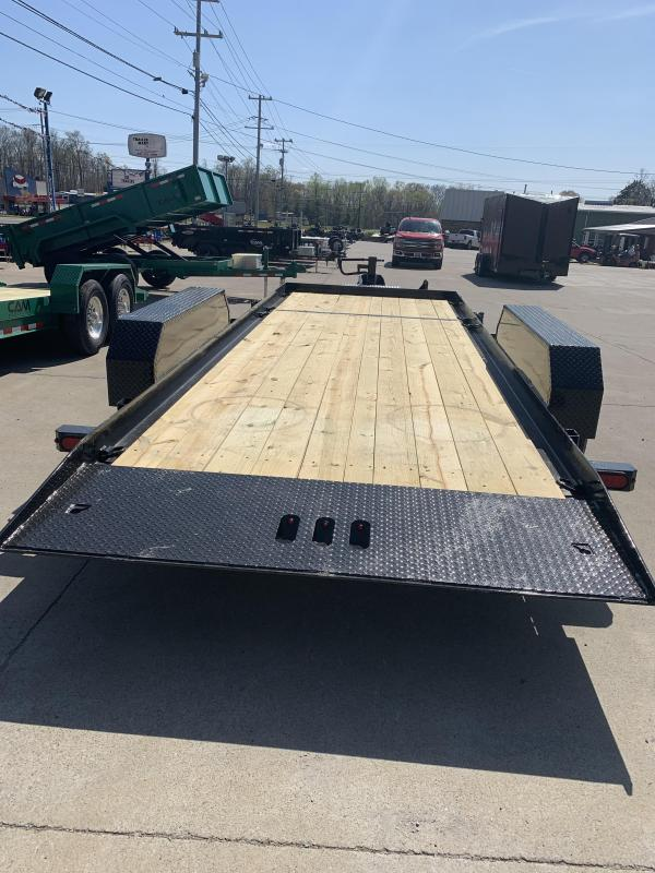 2021 Cam Superline P7CAM165STT Flatbed Trailer