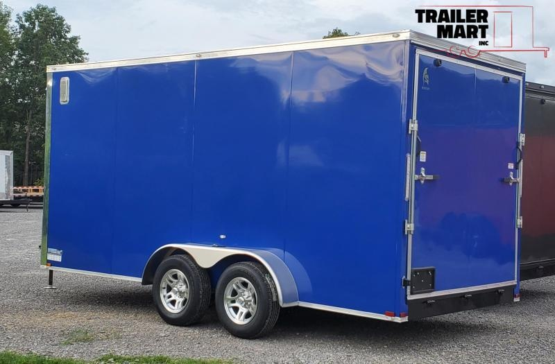 2021 Spartan SP7X16X7TA Enclosed Cargo Trailer