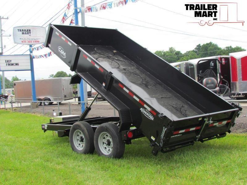 2021 Cam Superline Advantage 7X14 7 TON Dump Trailer