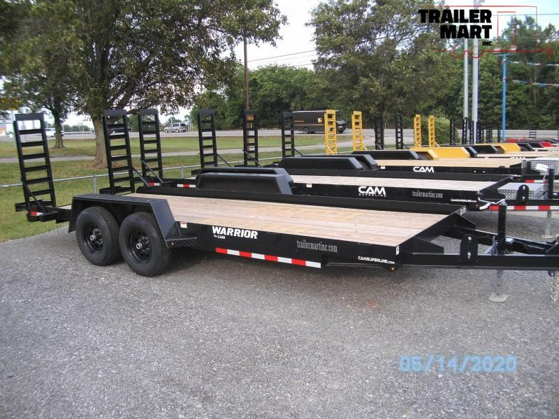 2020 Cam Superline 20' Angle Equipment Trailer