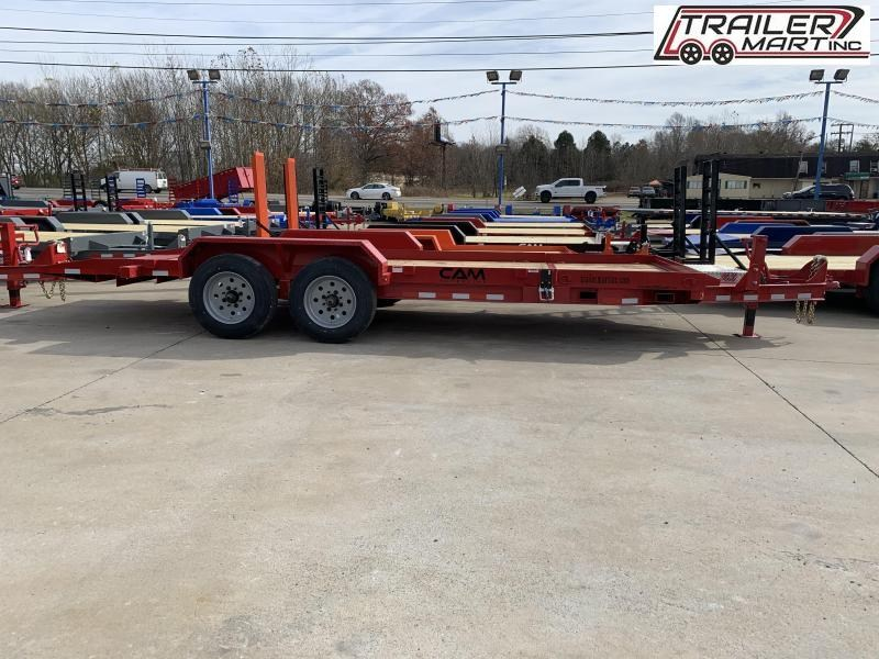 2021 Cam Superline P8CAM164STT Flatbed Trailer