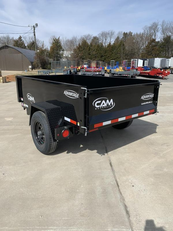2021 Cam Superline P5508LPDT (Advantage Low Profile Dump Trailer 5x8) Dump Trailer