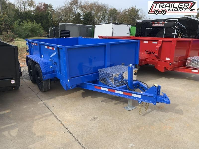 2021 Cam Superline P10610LPDT (10K Advantage Low Profile Dump Trailer 6x10) Dump Trailer