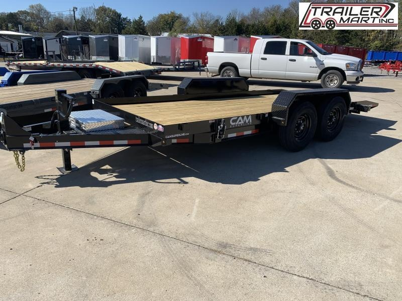 2021 Cam Superline P7CAM18FTT (7 Ton Tilt Trailer Full Deck 8.5 x 18) Equipment Trailer