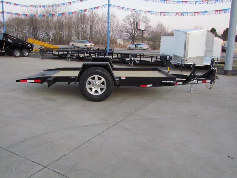 2021 Cam Superline 6X12 Tilt Deck Flatbed Trailer - Single Axle - 3 Ton