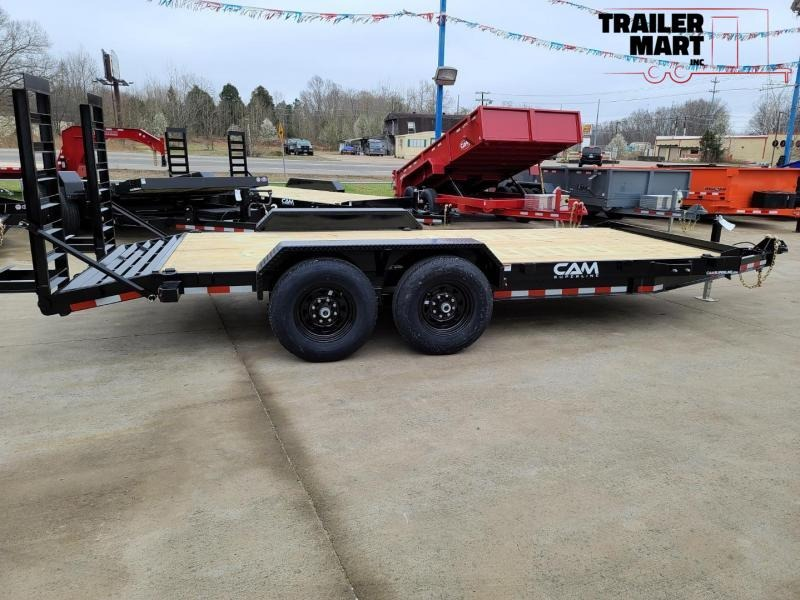 2020 Cam Superline 16+2 Channel Frame Flatbed Equipment Trailer - 7 Ton