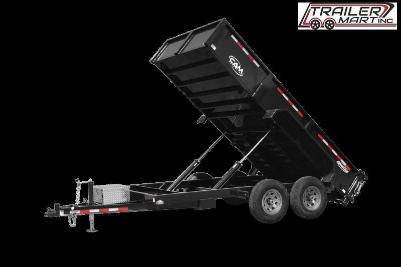 2021 Cam Superline P146814LPHDT (7 Ton Advantage HD Low Profile Dump Trailer 6.8x14 ) Dump Trailer