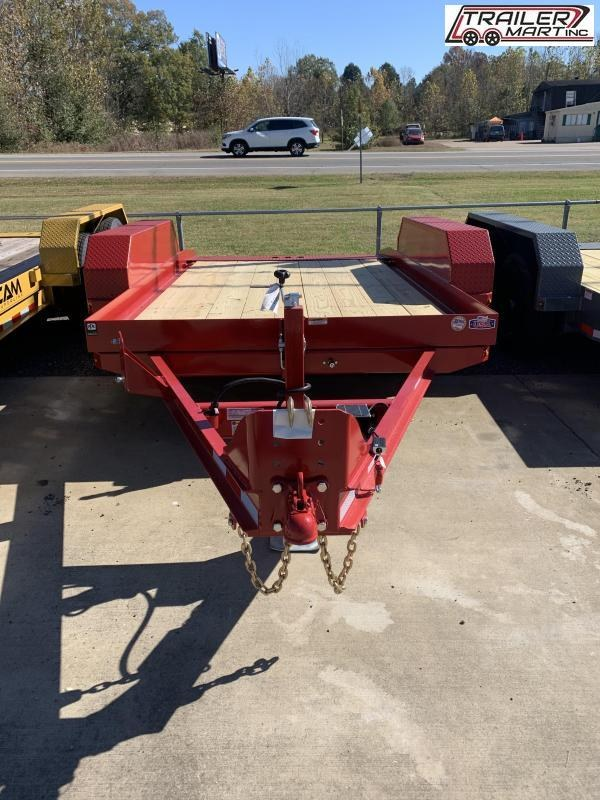 2021 Cam Superline P5CAM612FTT (5 Ton 6x12 Tilt Trailer TA) Flatbed Trailer
