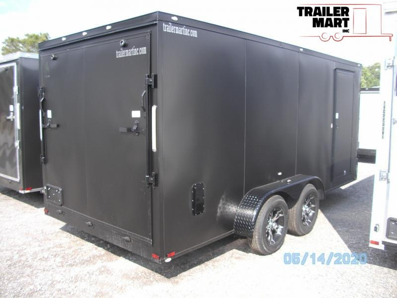 2021 Spartan 7X16 Commercial Grade  3 in 1 Enclosed Cargo Trailer
