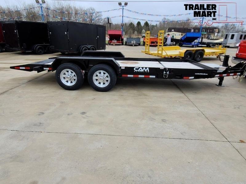 2020 Cam Superline 15-4 Channel Frame Flatbed Equipment Trailer - 8 Ton