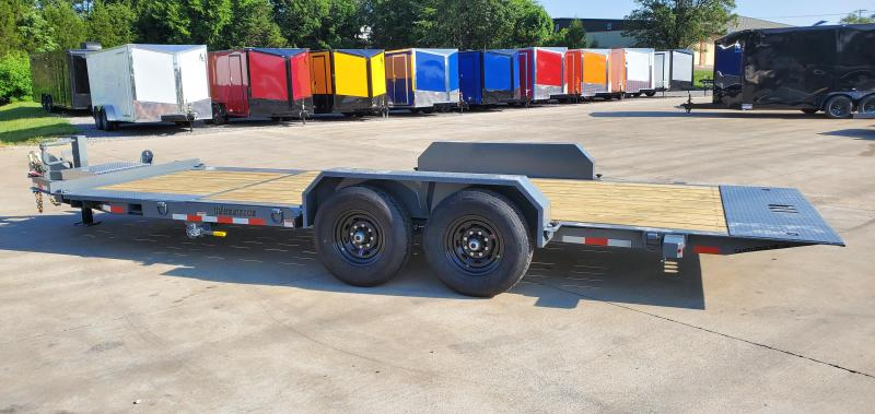2021 Cam Superline 7 Ton Split Deck Tilt Trailer 8.5x16+4 Equipment Trailer