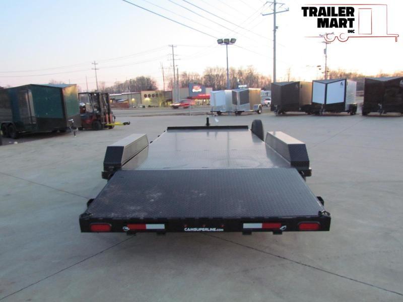 2020 Cam Superline 20' Car Hauler Flatbed Trailer - 5 Ton