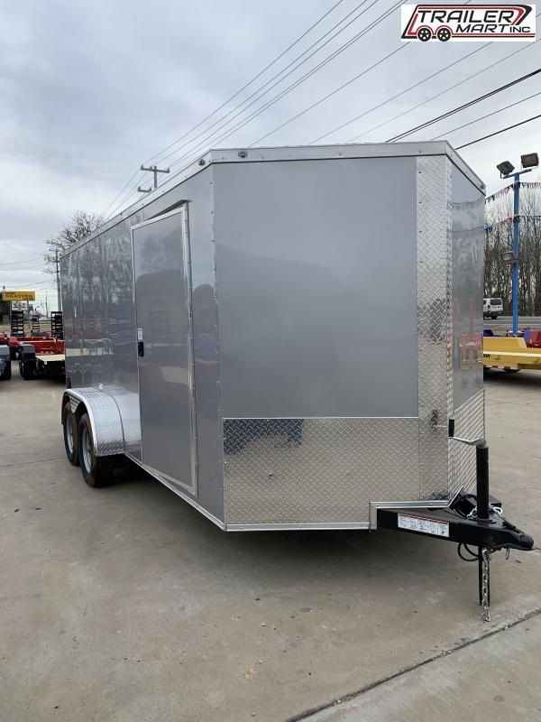 2021 NationCraft Trailers 7X16TA2 Enclosed Cargo Trailer