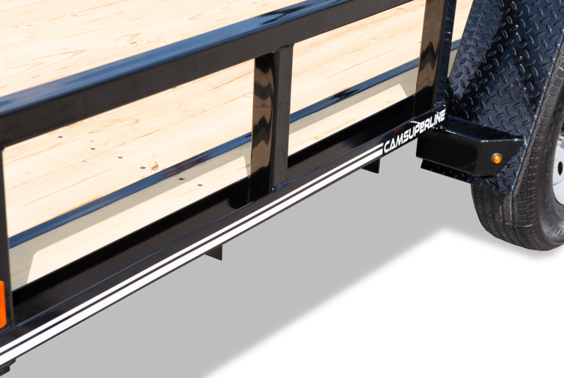 2020 Cam Superline 7X12 Open Utility Trailer Single Axle HD Frame Utility Trailer