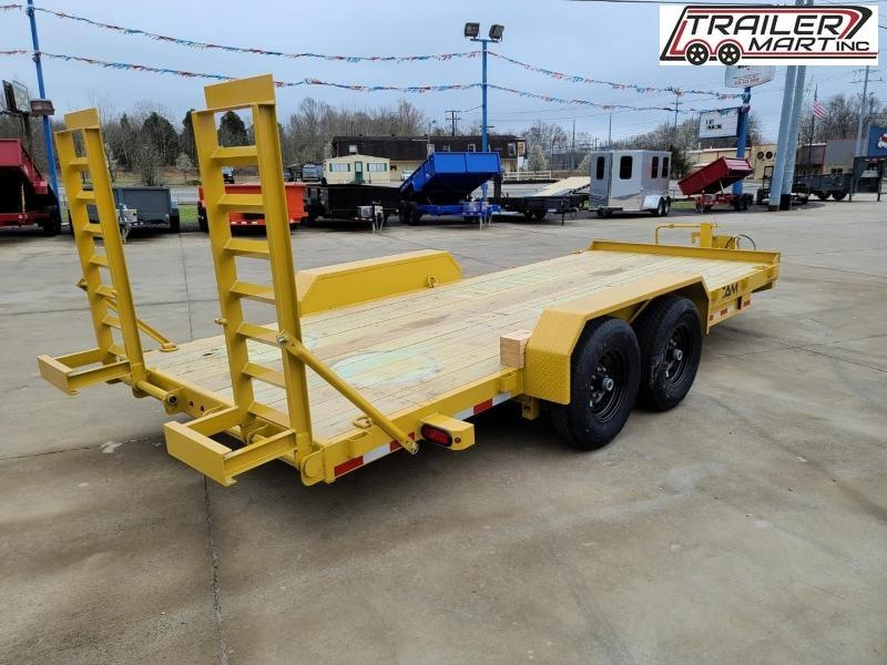 2021 Cam Superline 18' Channel Frame Flatbed Equipment Trailer - 7 Ton