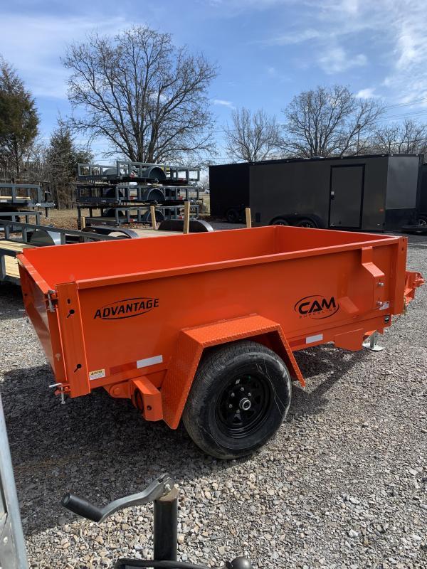 2021 Cam Superline P5508LPDT (Advantage Low Profile Dump Trailer 5x8) Dump Trailer