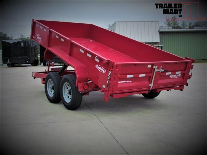 2020  Cam Superline 7x12  6 Ton Low HD Dump Trailer