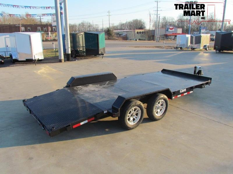 2020 Cam Superline 18' Steel Deck Car Hauler - 3.5 Ton