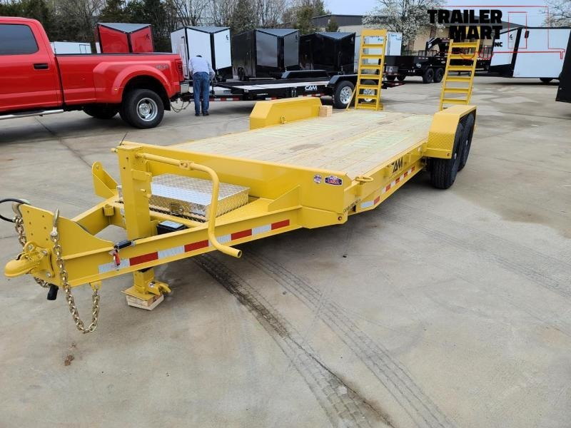 2020 Cam Superline 18' Channel Frame Flatbed Equipment Trailer - 7 Ton