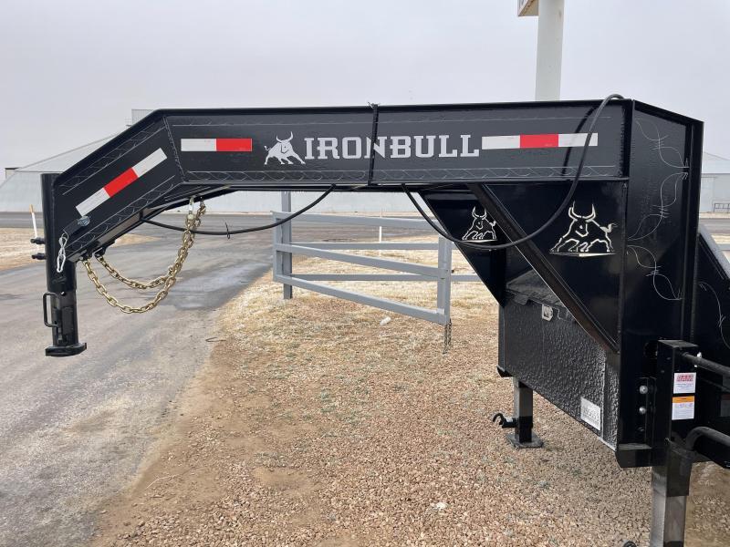 2021 Iron Bull Gooseneck Deckover Trailer