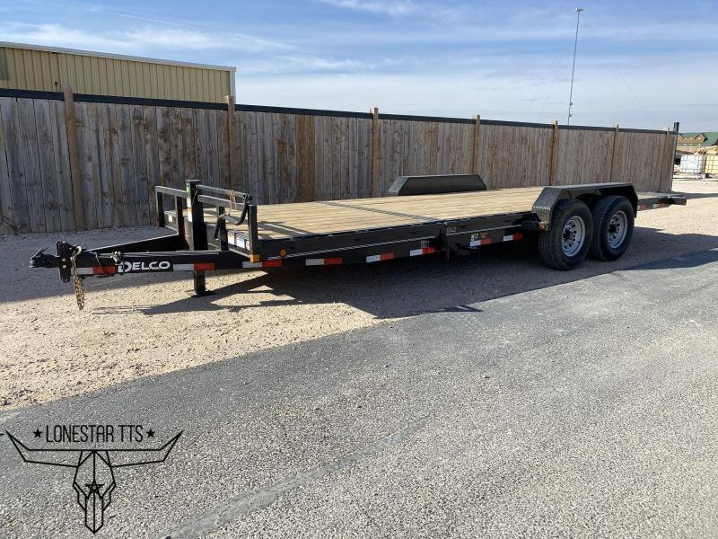 2021 Delco Trailers Equipment Tilt Deck