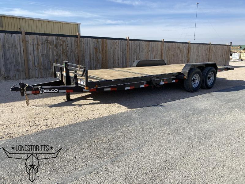 2021 Delco Trailers Equipment Tilt Deck