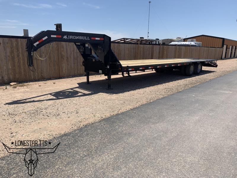 2019 IronBull Gooseneck Flatbed