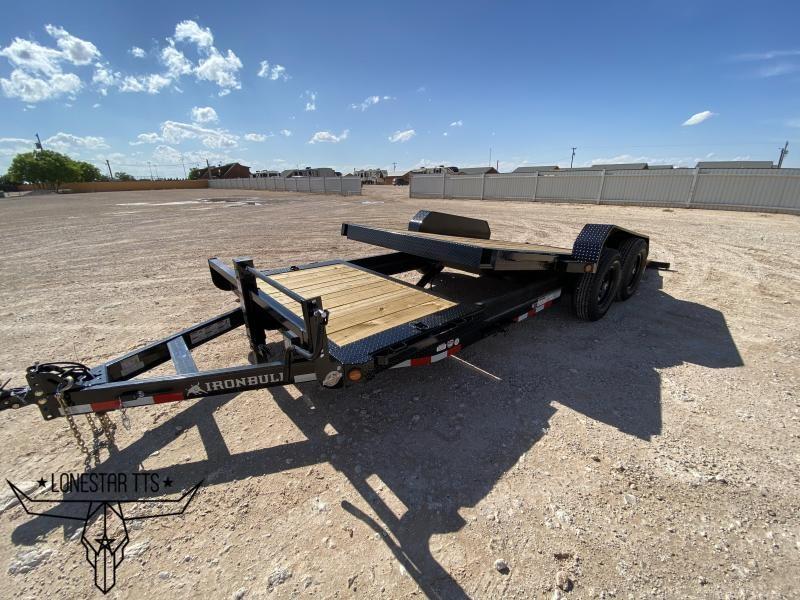 2021 Iron Bull Tilt Deck Equipment Trailer
