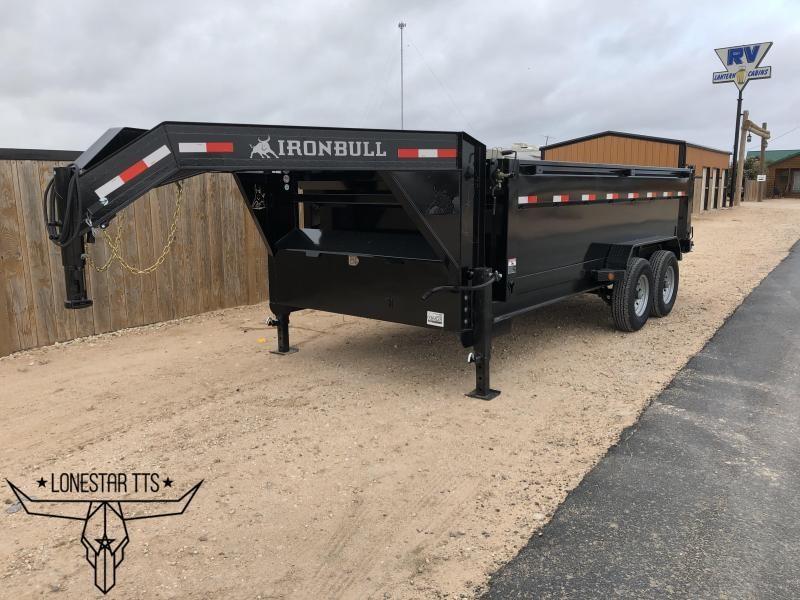 2020 Iron Bull Gooseneck Dump Trailer