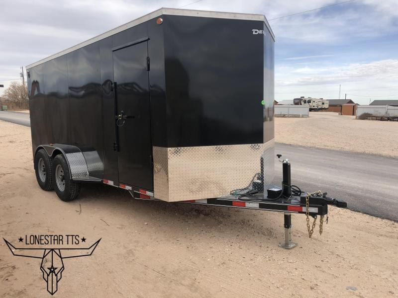 2020 Delco Enclosed Cargo Trailer