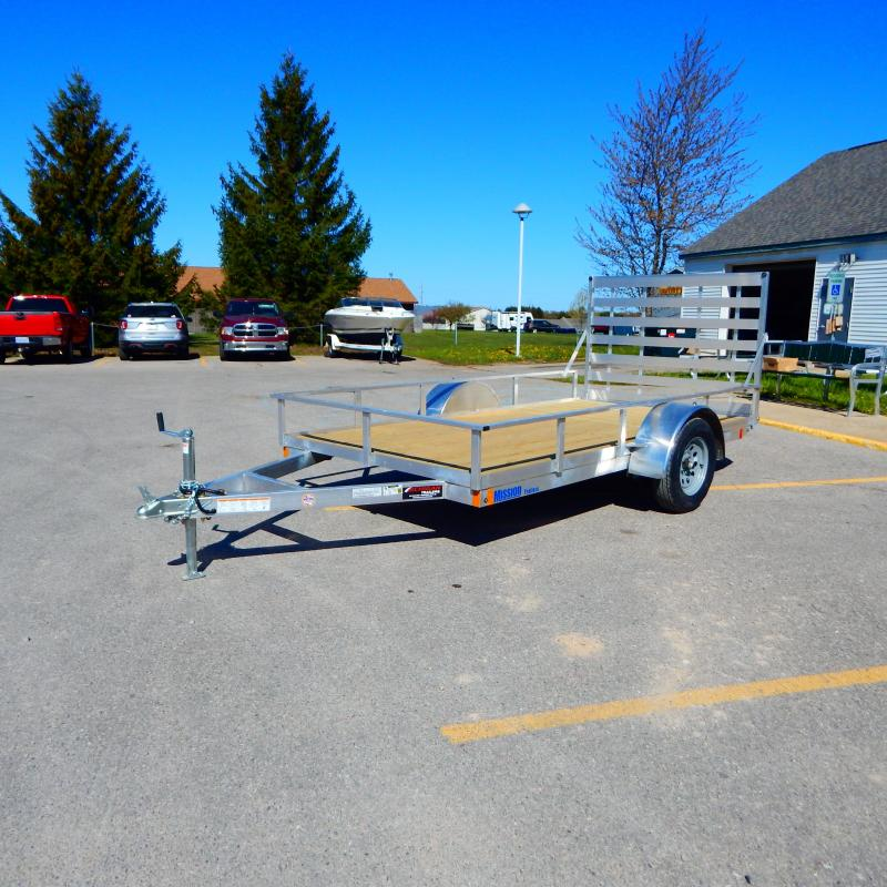 2021 Mission 6x12 3k Tube Top Utility Trailer