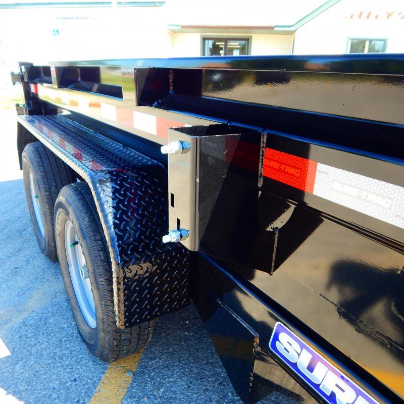 2021 Sure-Trac 5 x 10 Low Profile Homeowner Dump Traile