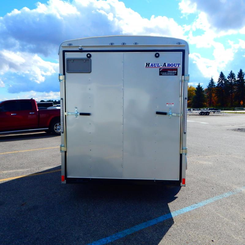 2020 Haul-About 6X12 LYNX 3K Enclosed Cargo Trailer
